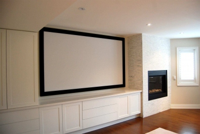 PERFORATED HOME THEATER SCREENS